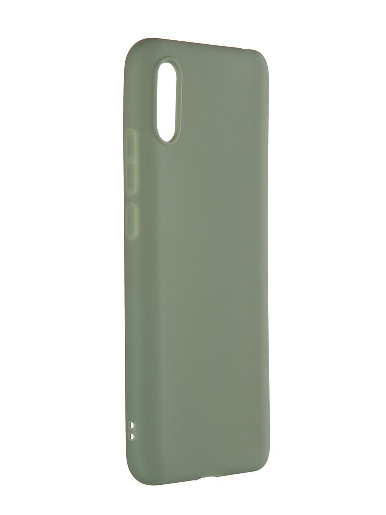 Чехол Neypo для Xiaomi Redmi 9A Soft Matte Olive NST18206