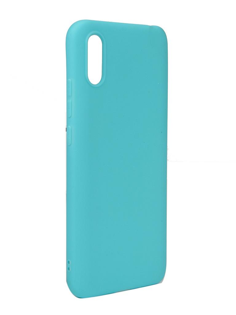 Чехол Neypo для Xiaomi Redmi 9A Soft Matte Turquoise NST18150