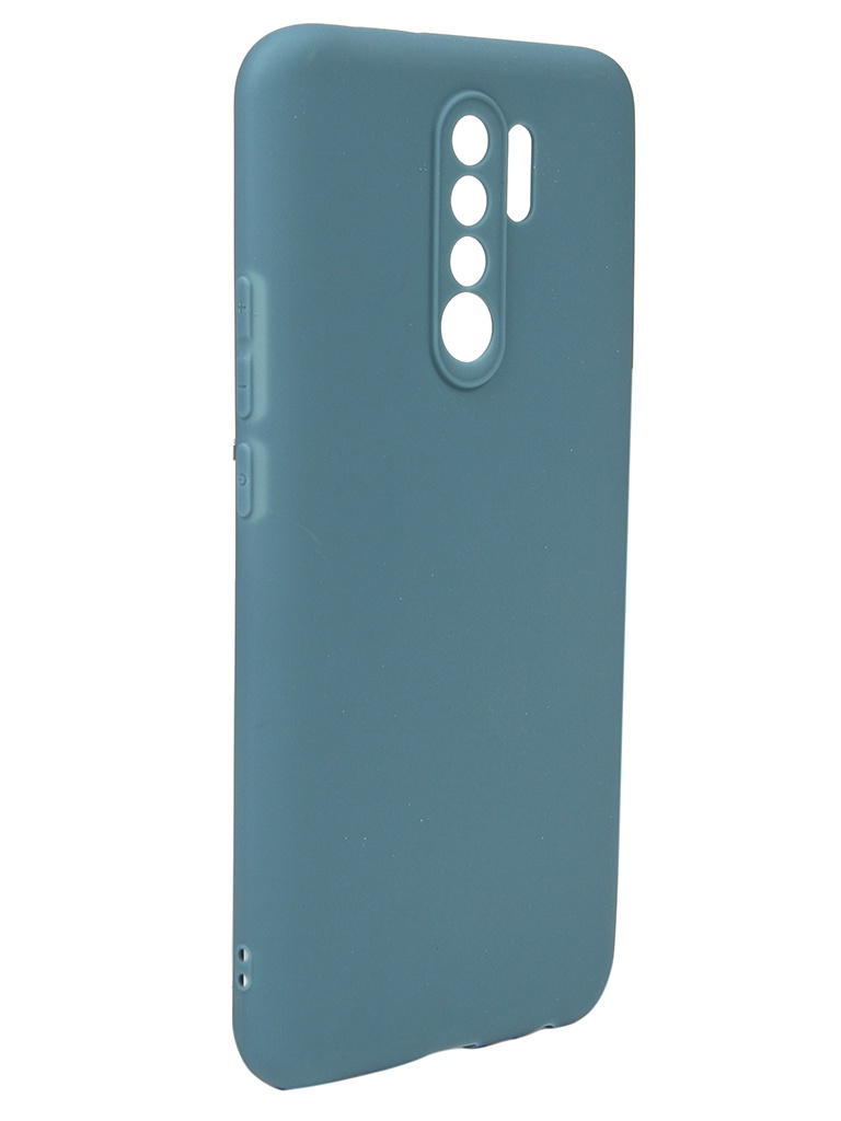 Чехол Neypo для Xiaomi Redmi 9 Soft Matte Grey-Green NST17845