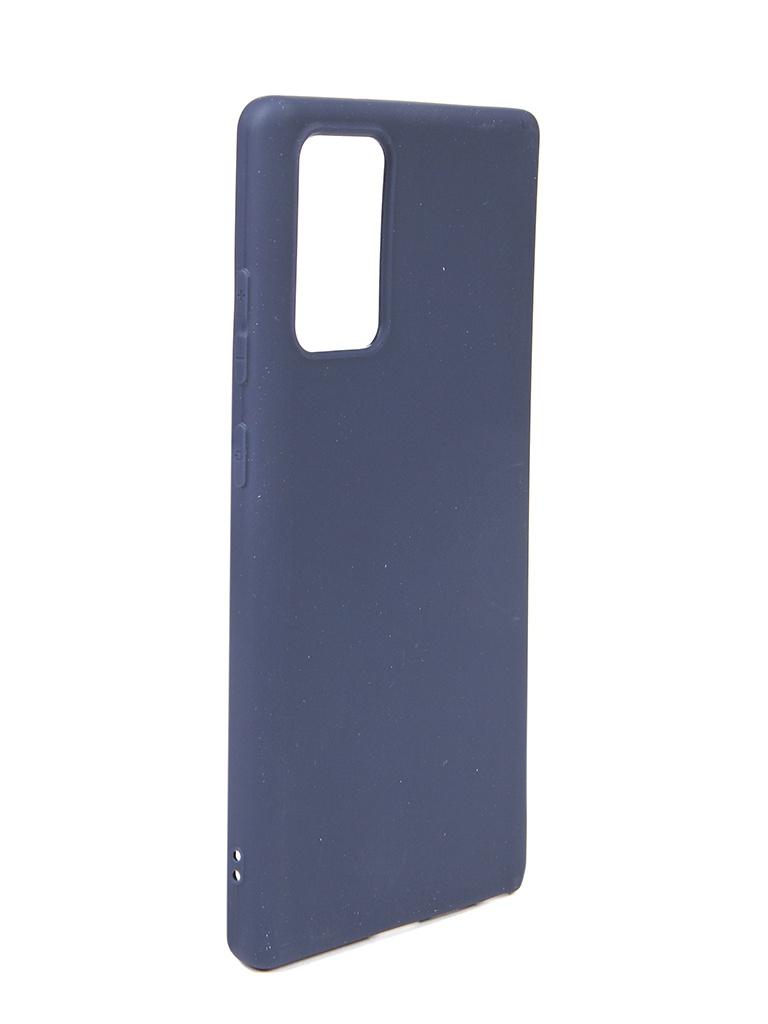Чехол Neypo для Samsung Galaxy Note 20 Soft Matte Dark Blue NST18260