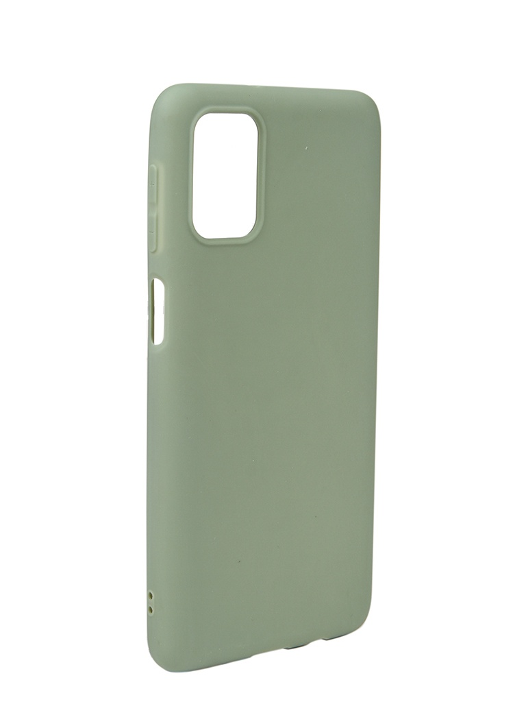 Чехол Neypo для Samsung Galaxy M31s (2020) Soft Matte Olive NST18697