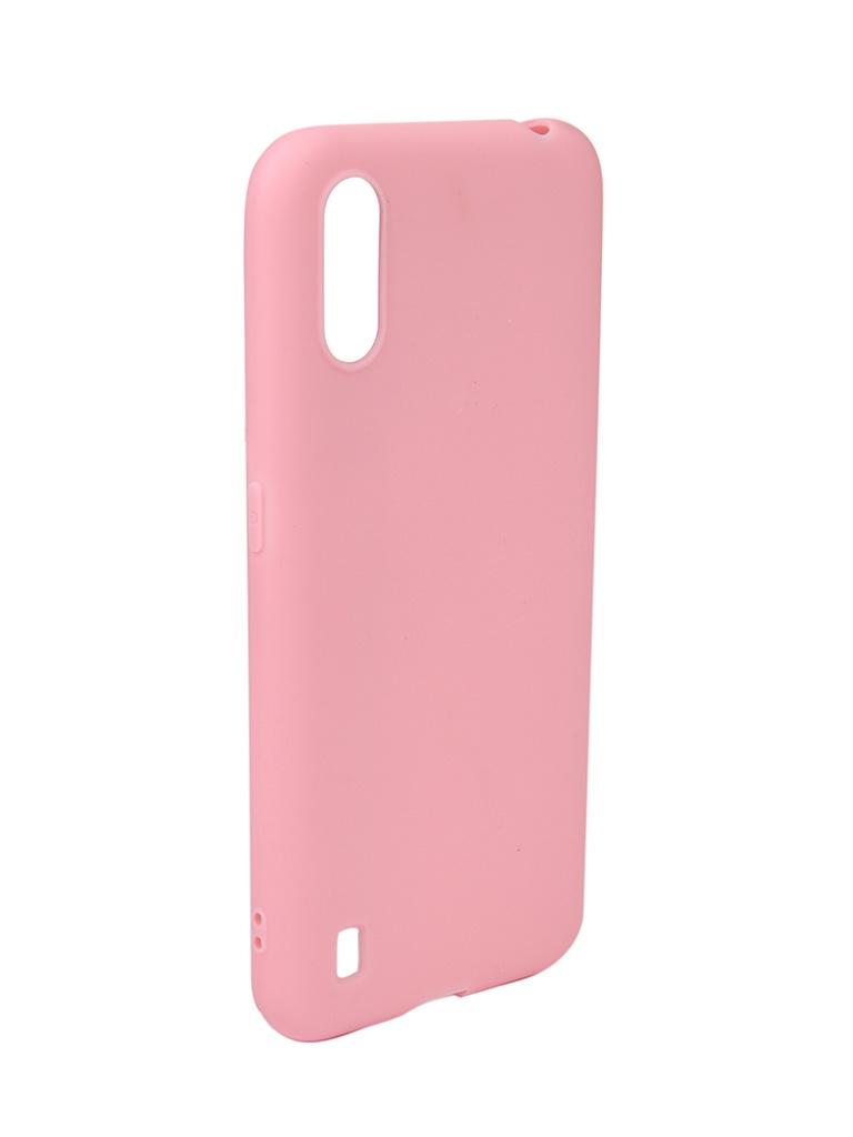Чехол Neypo для Samsung Galaxy A01 / M01 (2020) Soft Matte Pink NST16555