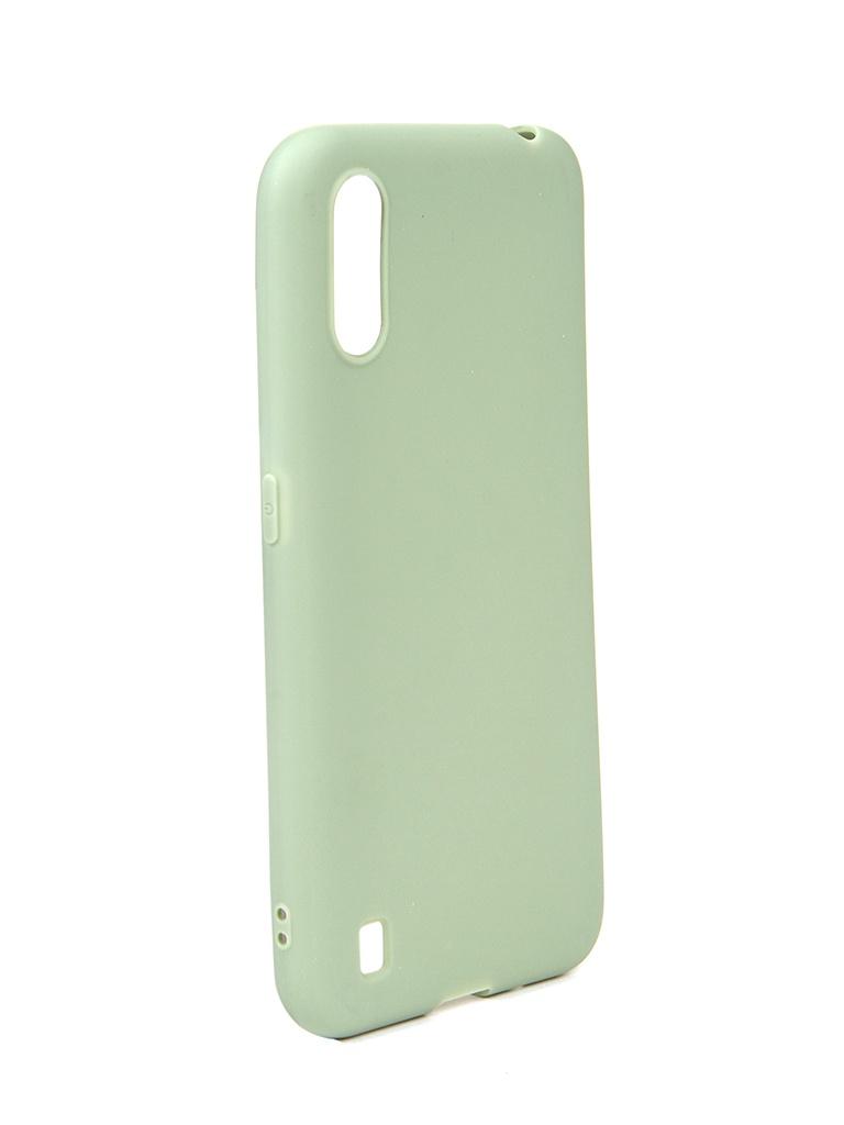 Чехол Neypo для Samsung Galaxy A01 / M01 (2020) Soft Matte Olive NST16749