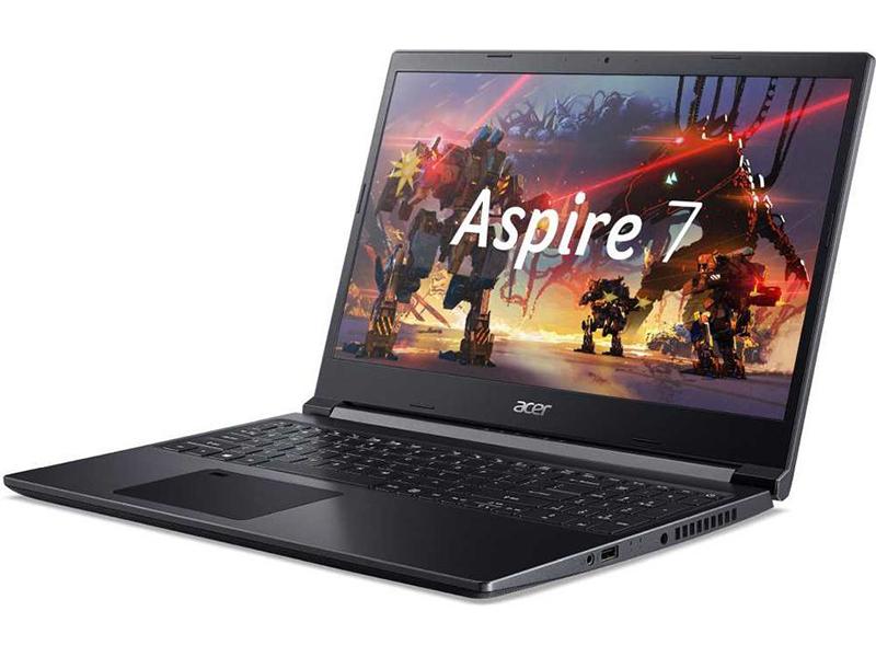 Ноутбук Acer Aspire 7 A715-41G-R72L NH.Q8QER.003 (AMD Ryzen 5 3550H 2.1GHz/8192Mb/512Gb SSD/nVidia GeForce GTX 1650 Ti 4096Mb/Wi-Fi/15.6/1920x1080/Eshell)