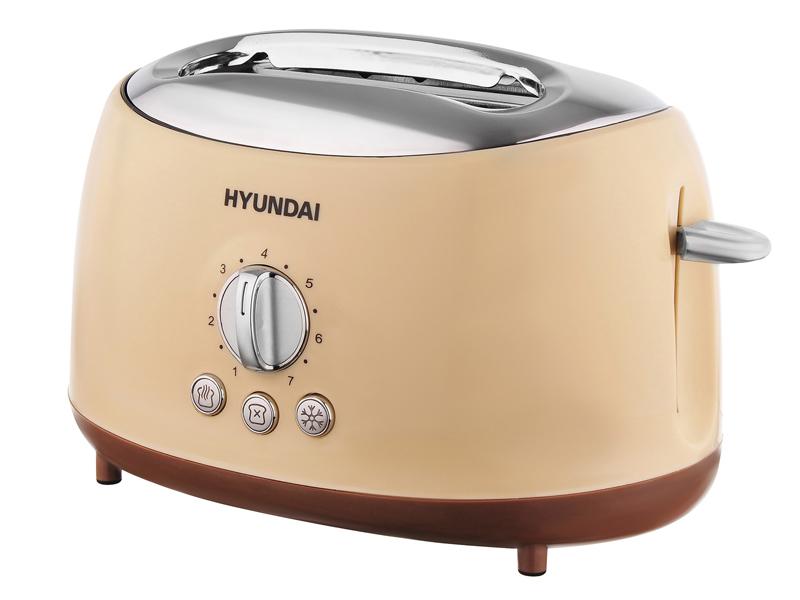 Тостер Hyundai HYT-8004 Beige -Brown