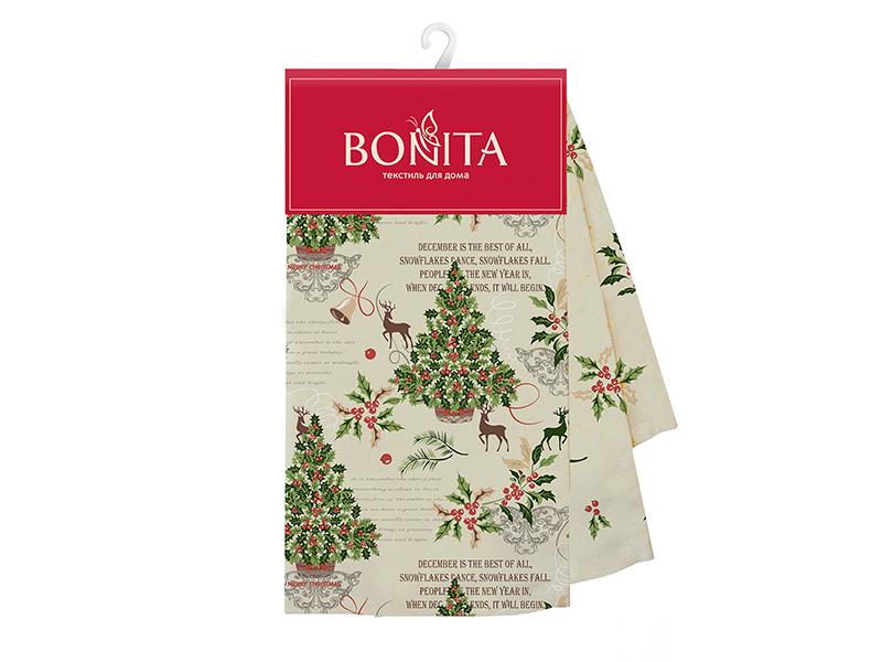 Полотенце Bonita Зимний лес 35x61cm 2шт 21010820597