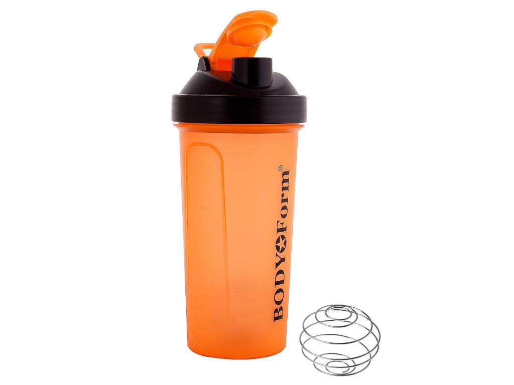Шейкер BodyForm 700ml BF-SSH01-700 Orange насос bodyform bf p01 purple 4690507090183