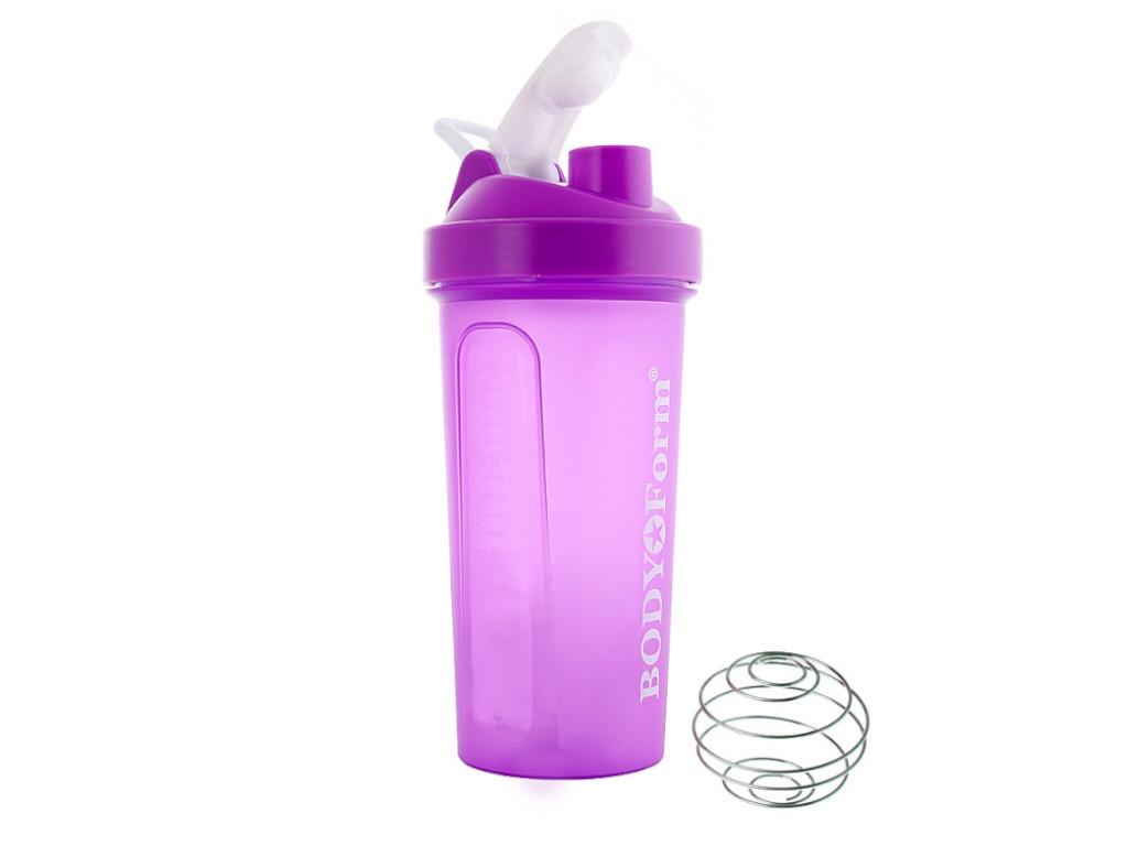 Шейкер BodyForm 700ml BF-SSH01-700 Purple насос bodyform bf p01 purple 4690507090183