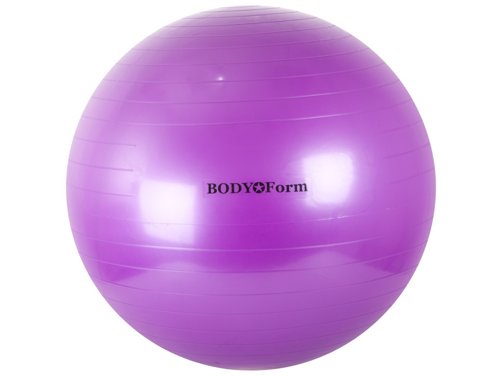 Мяч BodyForm BF-GB01 65cm Purple