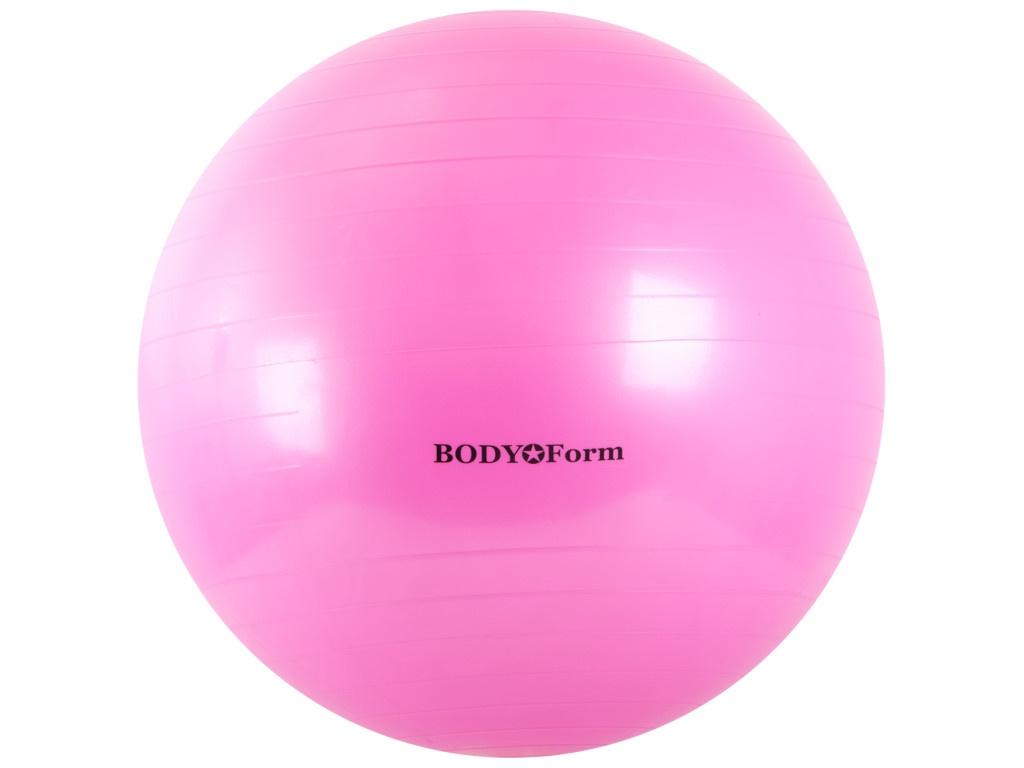 Мяч BodyForm BF-GB01 65cm Pink насос bodyform bf p01 purple 4690507090183