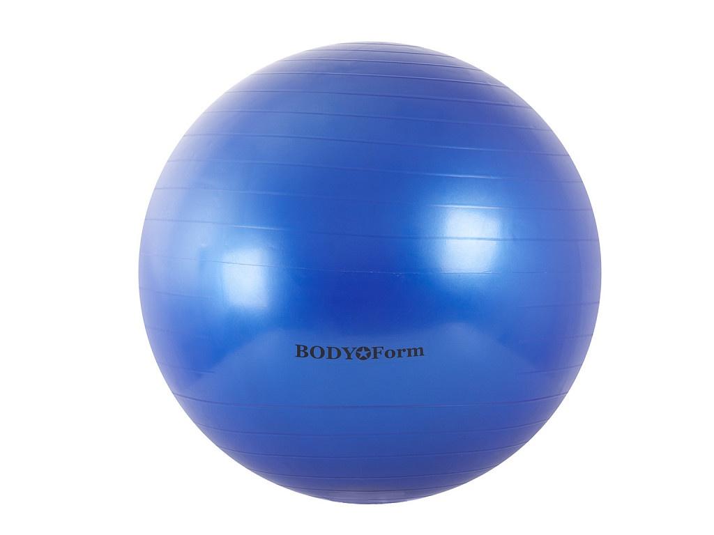 Мяч BodyForm BF-GB01 55cm Blue мяч bodyform bf gb01 55cm pink