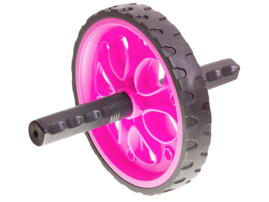 Тренажер Ролик гимнастический BodyForm BF-WG01 Black-Pink мяч bodyform bf gb01 55cm pink