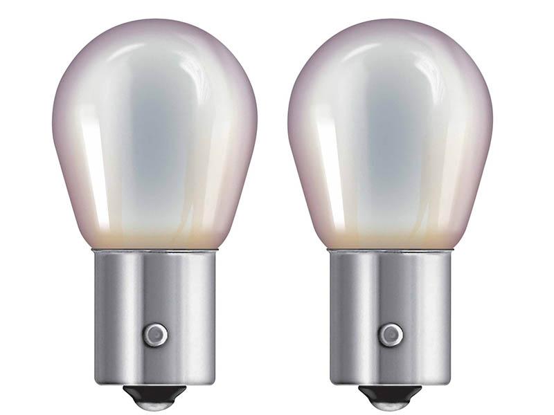 Лампа Osram PY21W 12V-21W (BAU15s) Diadem Chrome 2шт 7507DC-02B