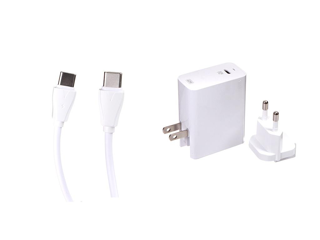 Зарядное устройство Ldnio A1405C 1xUSB + Cable USB Type-C White LD_B4395