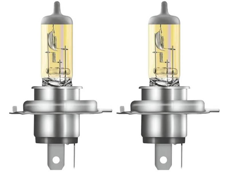 Лампа Osram H4 12V-60/55W (P43t) Fog Breaker 2шт DuoBox 62193FBR-HCB