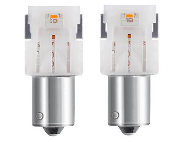 Лампа Osram PY21W 12V-LED (BAU15s) Amber LEDriving Premium 2шт 7459YE-02B
