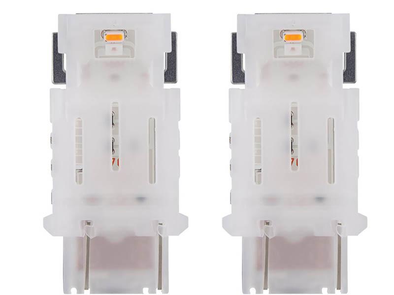 Лампа Osram P27W 12V-LED (W2.5x16d) Amber LEDriving Standart 2шт 3548YE-02B