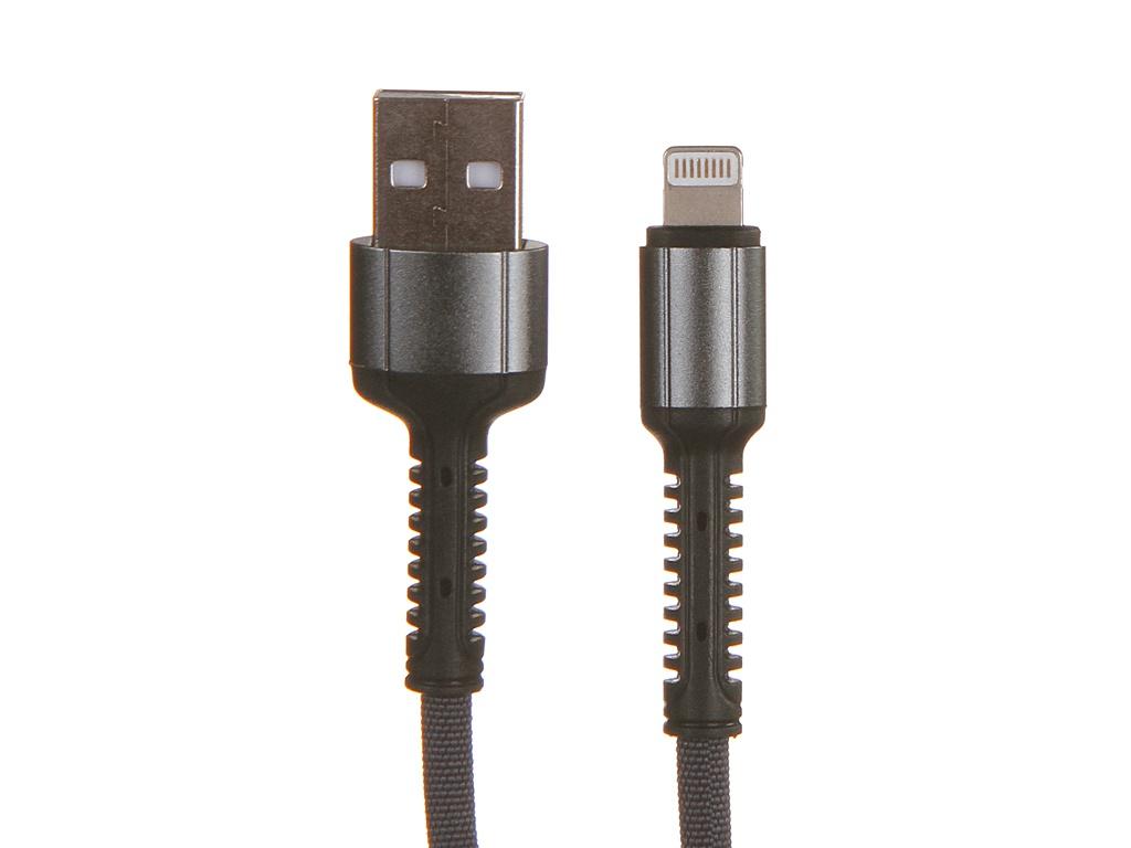Аксессуар Ldnio LS64 USB - Lightning 2.4A 2m Gray LD_B4467
