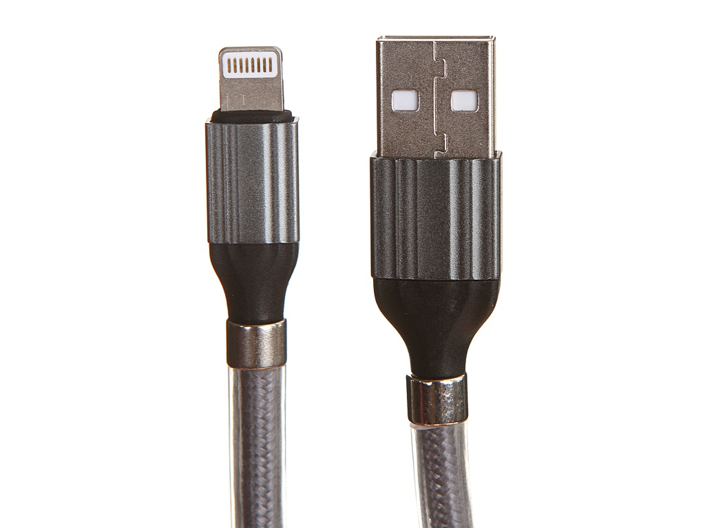 Фото - Аксессуар Ldnio LS491 USB - Lightning 2.4A 1m Gray LD_B4464 аксессуар ldnio ls511 usb lightning 2 4a 1m white ld_b4483