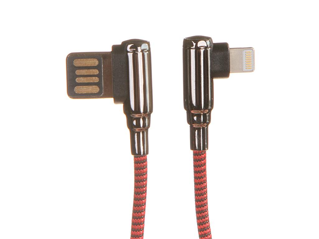 Фото - Аксессуар Ldnio LS422 USB - Lightning 2.4A 2m Red LD_B4630 аксессуар ldnio ls422 usb micro usb 2 4a 2m gray ld_b4626