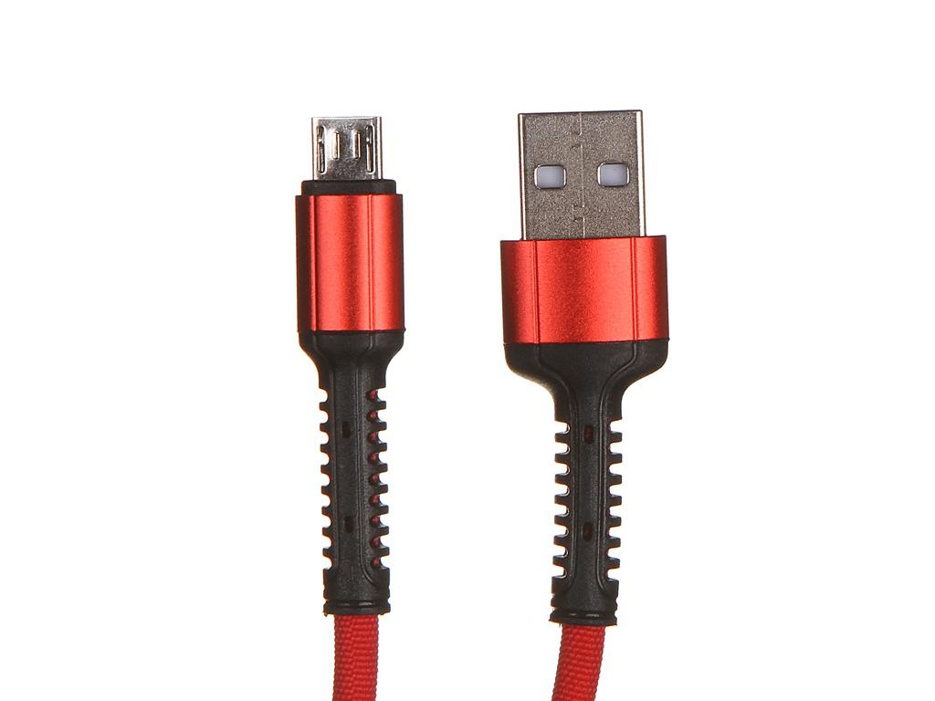 Фото - Аксессуар Ldnio LS64 USB - Micro USB 2.4A 2m Red LD_B4469 аксессуар ldnio ls432 usb usb type c 2 4a 2m red ld_b4570