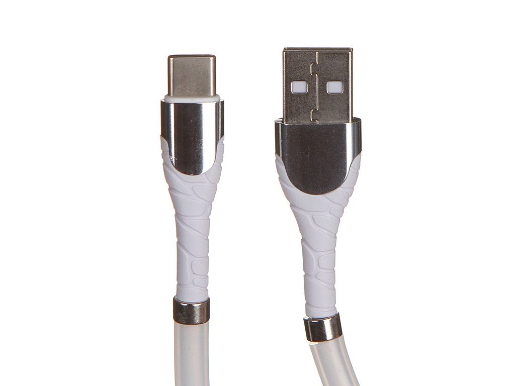 Фото - Аксессуар Ldnio LS511 USB - USB Type-C 2.4A 1m White LD_B4484 аксессуар baseus tough series usb usb type c 1m white catzy b02 906026