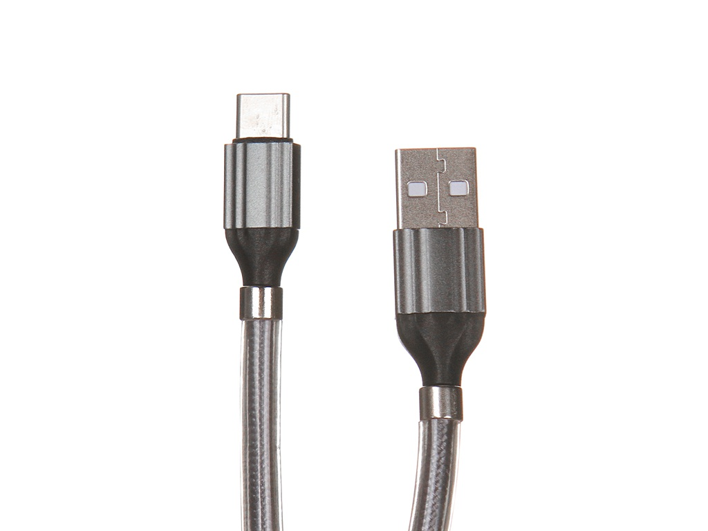 Аксессуар Ldnio LS491 USB - Type-C 2.4A 1m Gray LD_B4465