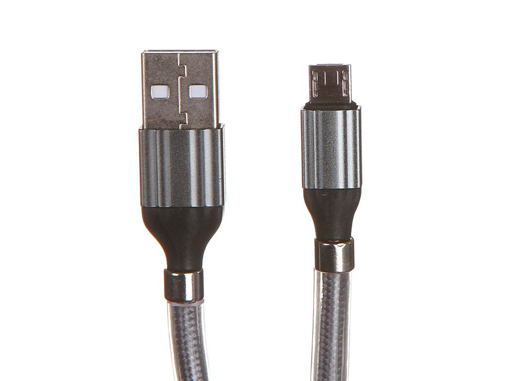 Аксессуар Ldnio LS491 USB - Micro 2.4A 1m Gray LD_B4463