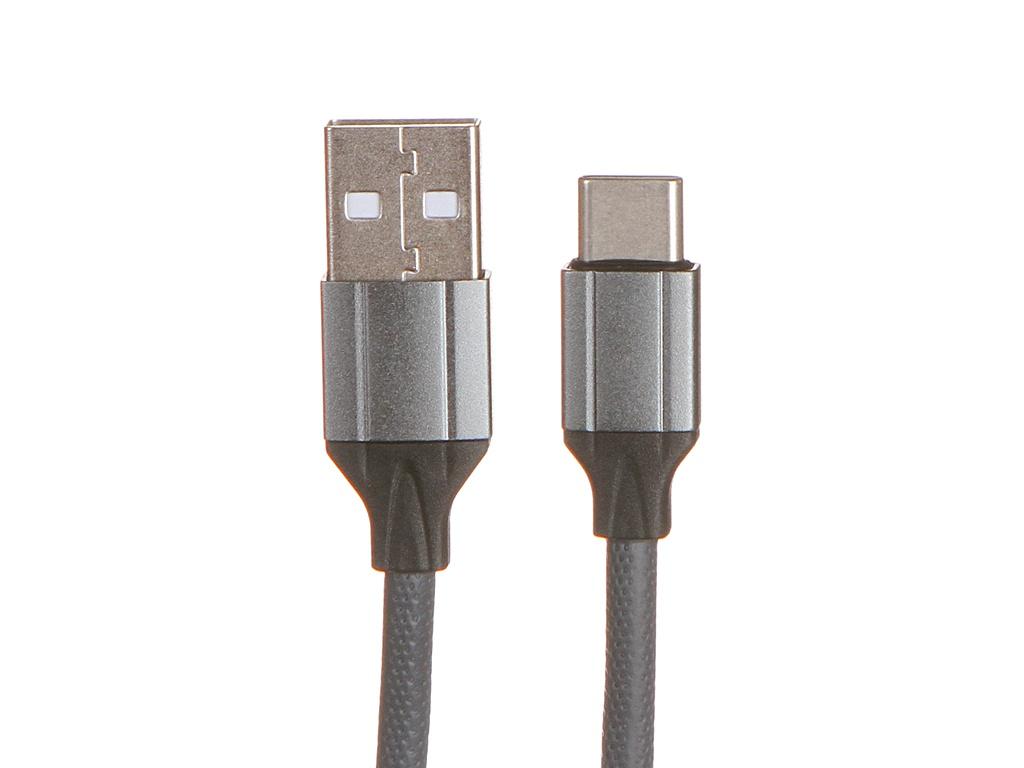 Фото - Аксессуар Ldnio LS442 USB - USB Type-C 2.4A 2m Gray LD_B4490 аксессуар ldnio ls64 5a usb usb type c 5a 2m red ld_b4478
