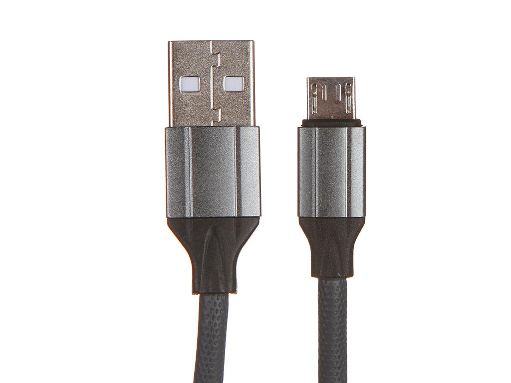 Фото - Аксессуар Ldnio LS442 USB - Micro USB 2.4A 2m Gray LD_B4488 аксессуар ldnio ls422 usb micro usb 2 4a 2m gray ld_b4626