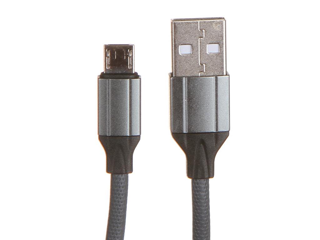 Аксессуар Ldnio LS441 USB - Micro 2.4A 1m Gray LD_B4485