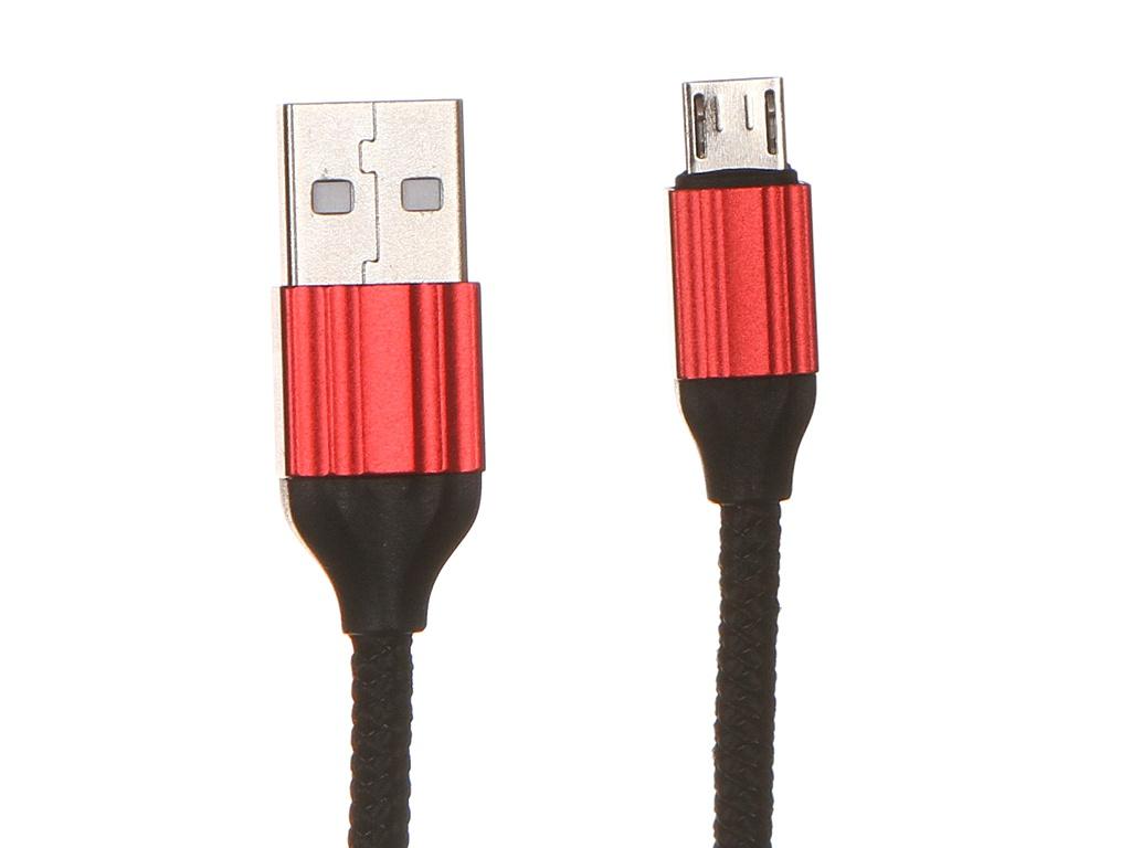 Аксессуар Ldnio LS432 USB - Micro 2.4A 2m Red LD_B4568