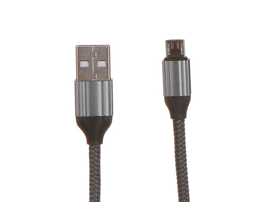 Аксессуар Ldnio LS432 USB - Micro 2.4A 2m Gray LD_B4571