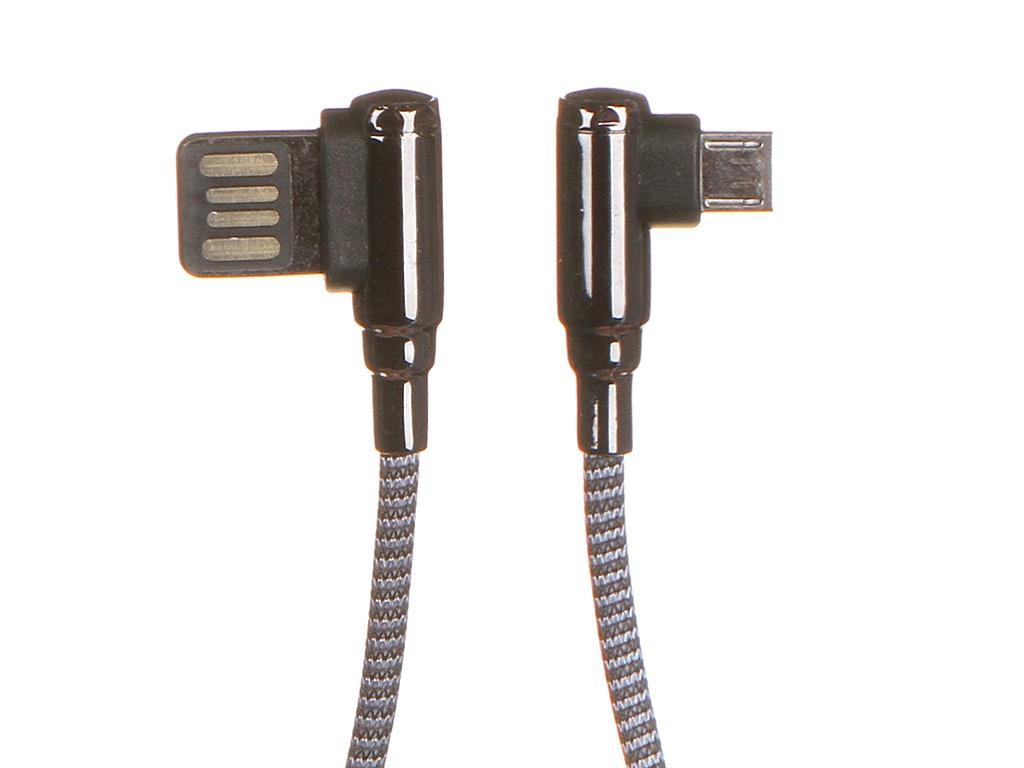 Аксессуар Ldnio LS422 USB - Micro 2.4A 2m Gray LD_B4626