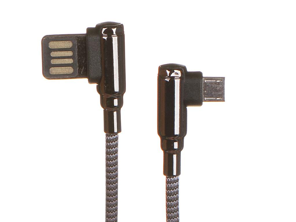 Аксессуар Ldnio LS421 USB - Micro 2.4A 1m Gray LD_B4620
