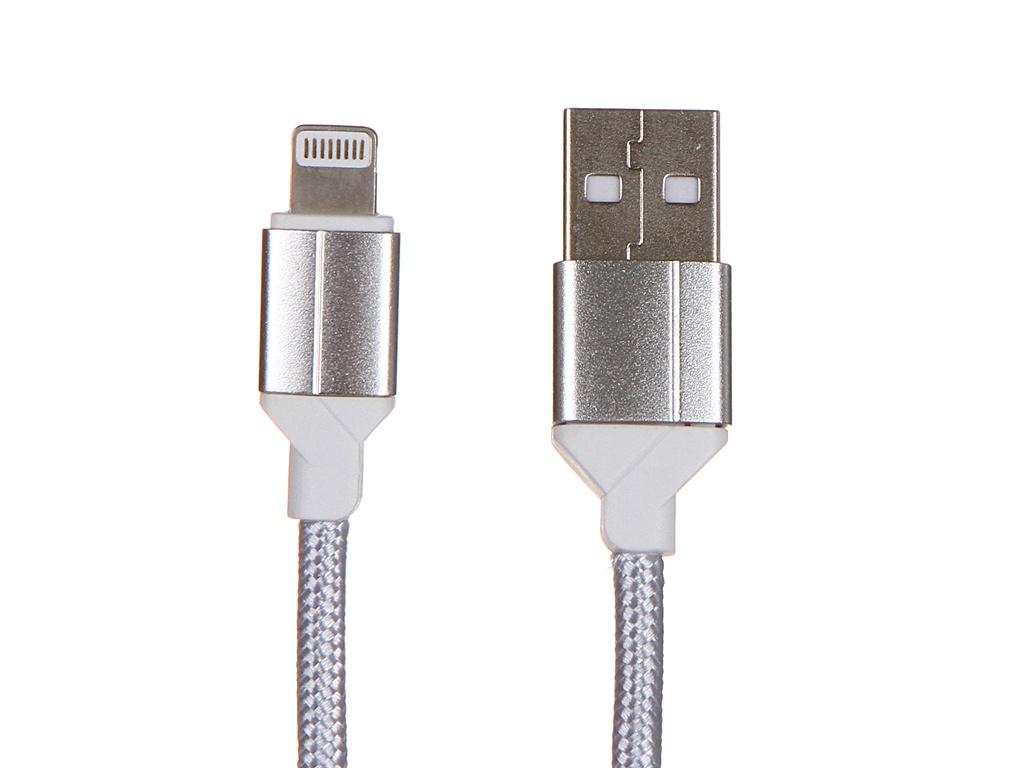 Аксессуар Ldnio LS392 USB - Lightning 2.4A 2m Silver LD_B4451