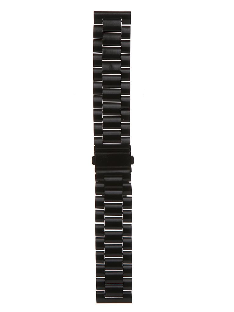 Аксессуар Универсальный ремешок Red Line 22mm Black УТ000022766
