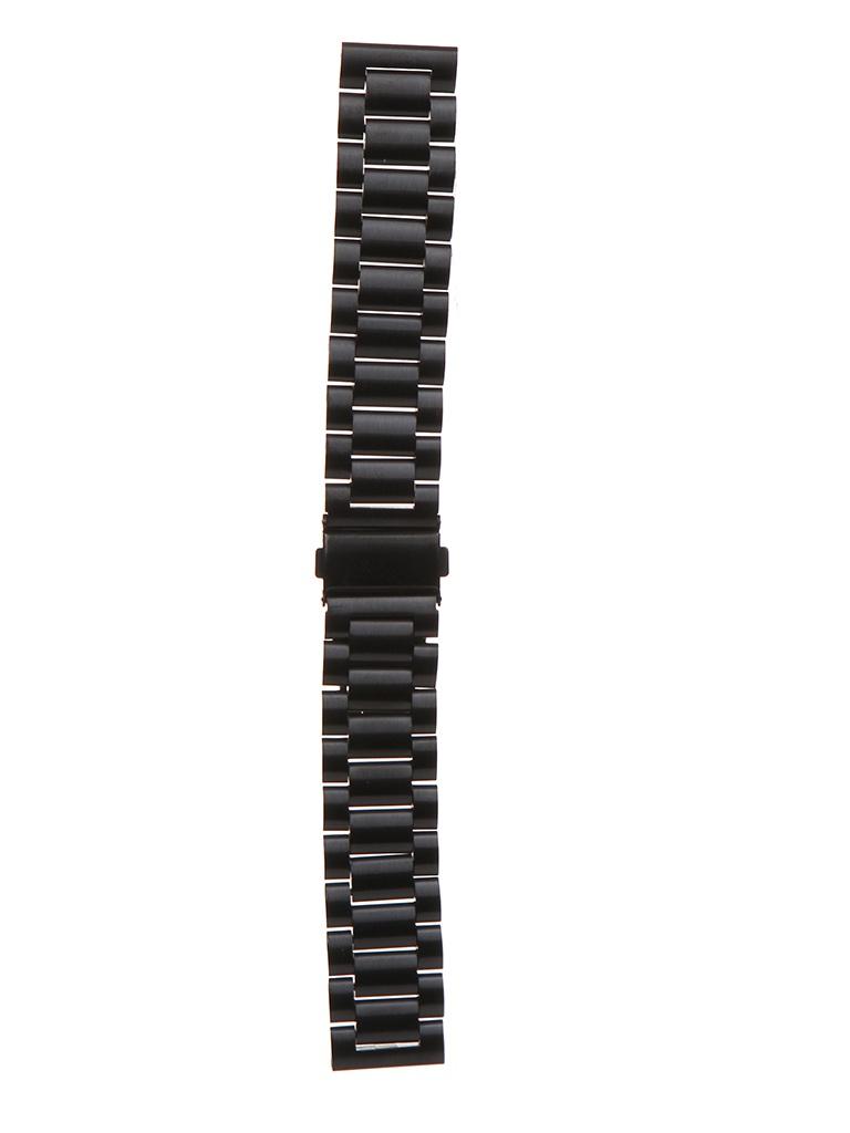 Аксессуар Универсальный ремешок Red Line 20mm Black УТ000022764