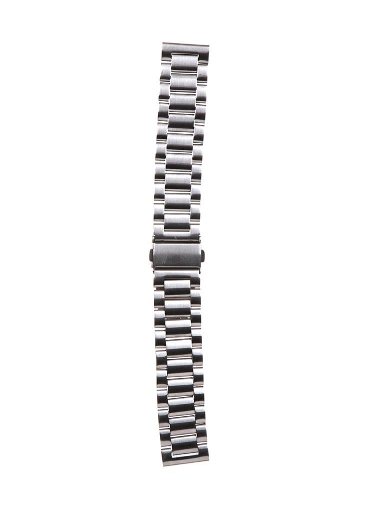Аксессуар Универсальный ремешок Red Line 20mm Silver УТ000022763