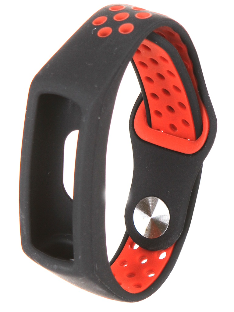Aксессуар Ремешок Red Line для Honor Band 5 Silicone Black-Red УТ000022778