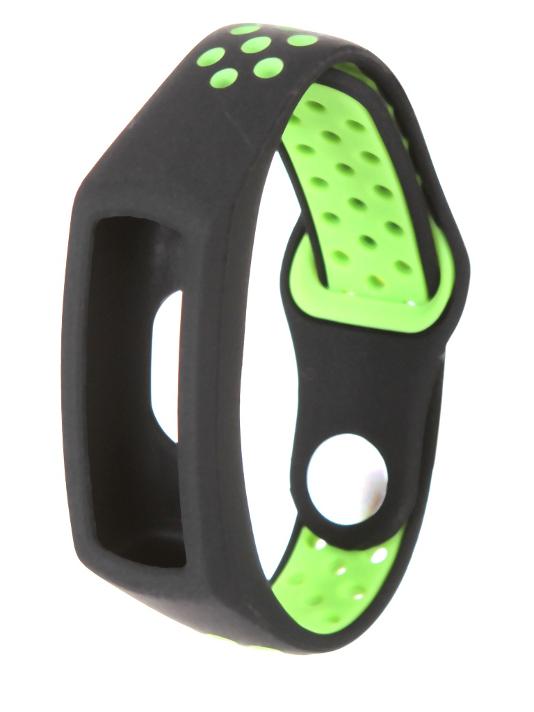 Aксессуар Ремешок Red Line для Honor Band 5 Silicone Black-Green УТ000022779