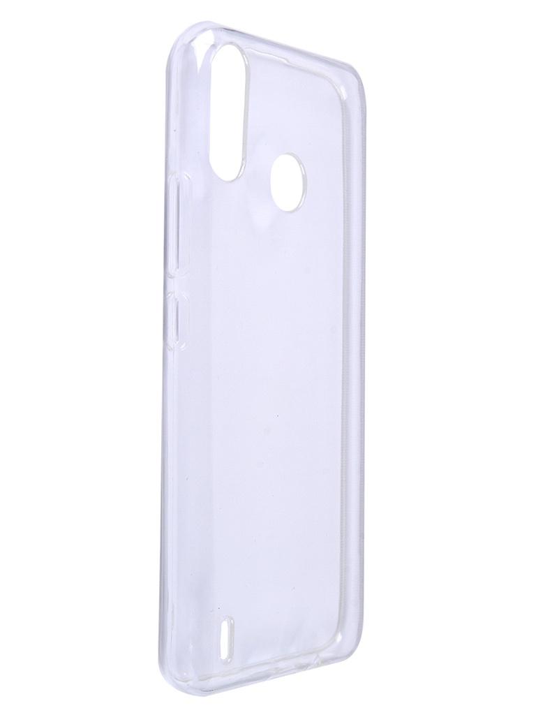 Чехол iBox для Tecno Spark 4 Air Crystal Silicone Transparent УТ000022601