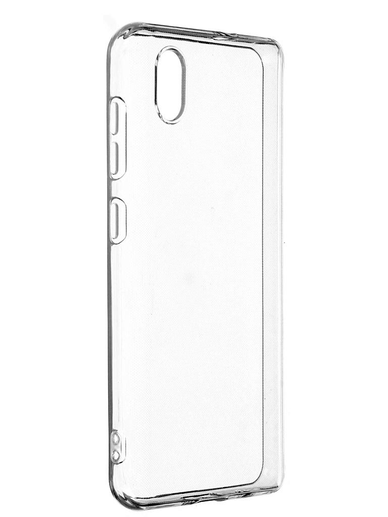 Чехол iBox для ZTE Blade A3 2020 Crystal Silicone Transparent УТ000021724