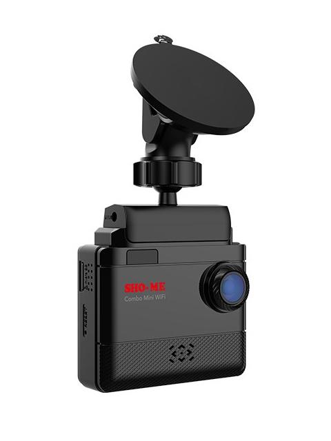 Видеорегистратор Sho-Me Combo Mini WIFI Выгодный набор + серт. 200Р!!!