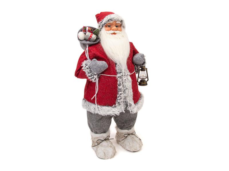 Игрушка Winter Glade Дед Мороз 80cm Red-Grey M21