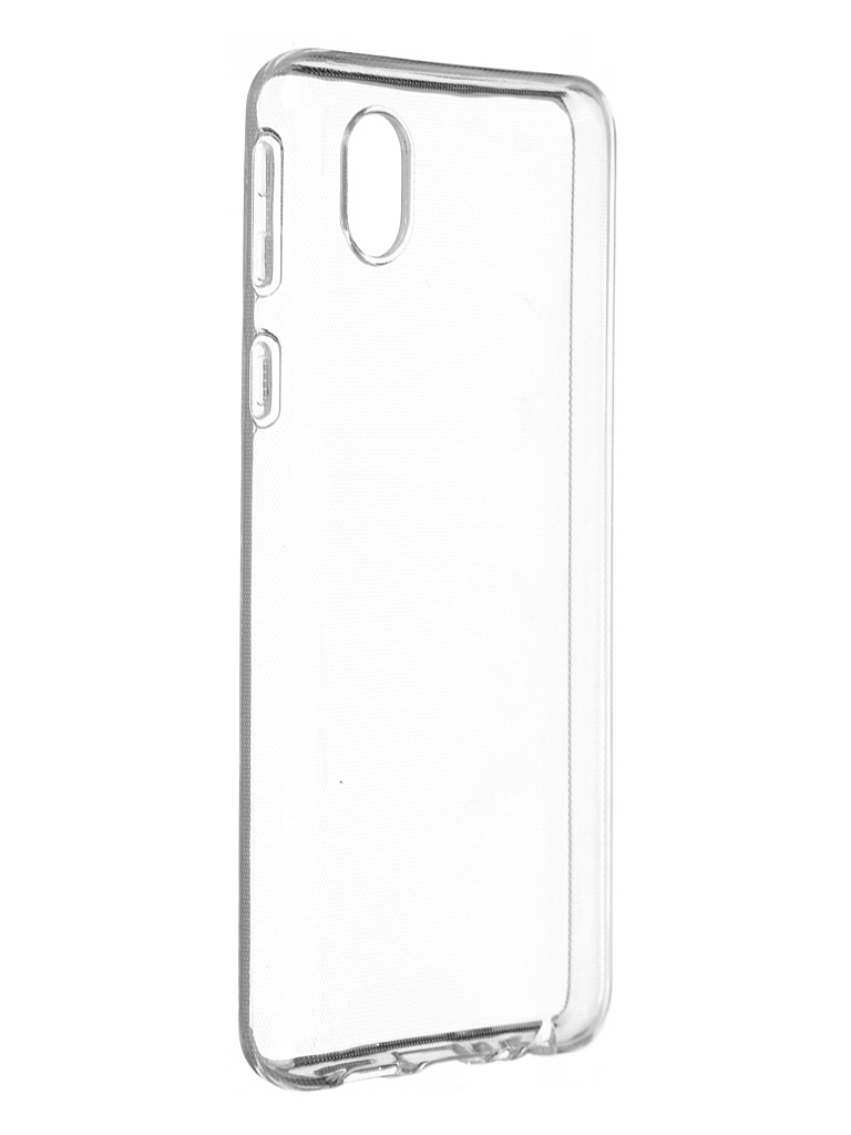 Чехол Brosco для Samsung Galaxy A01 Core Silicone Transparent SS-A01C-TPU-TRANSPARENT