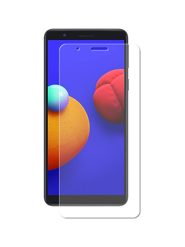Защитное стекло Brosco для Samsung Galaxy A01 Core 03mm SS-A01C-SP-GLASS