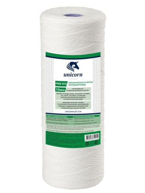 Картридж Unicorn PP BB 1010 для механической очистки воды 10 ВВ 10мкм