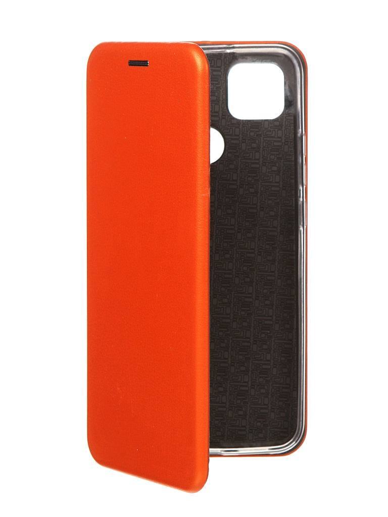 Чехол Zibelino для Xiaomi Redmi 9C Book Orange ZB-XIA-RDM-9C-ORG