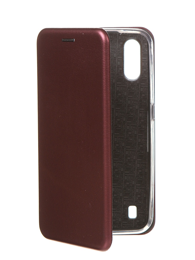 Чехол Zibelino для Samsung Galaxy M01 M015 Book Bordo ZB-SAM-M015-BRD